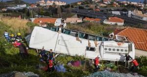 Τραγωδία στην Πορτογαλία, 29 οι νεκροί από το τροχαίο στη Μαδέρα