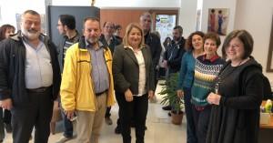 Σε αστικό ΚΤΕΛ Χανίων και Διοικητικές Υπηρεσίες του Δήμου ο Γρηγόρης Αρχοντάκης