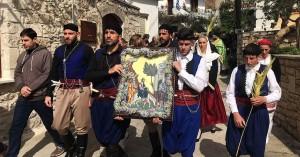Η Κυριακή των Βαΐων στον 'Αγιο Ελευθέριο Ατσιπόπουλου Ρεθύμνου (φωτο)