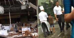 Εικόνες φρίκης σε ξενοδοχείο στη Σρι Λάνκα αμέσως μετά την έκρηξη