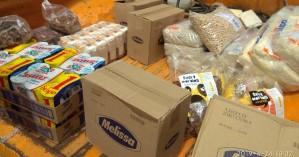 Προσφορά τροφίμων στο Κοινωνικό Παντοπωλείο του Δήμου Χανίων