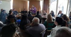 Συνέχισε τον διάλογο σε Βασιλειές, Άγιο Βλάση και Άγιο Σύλλα ο Πέτρος Ινιωτάκης