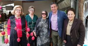 Στο Πασχαλινό Παζάρι του συνδέσμου γυναικείων σωματείων ο Πέτρος Ινιωτάκης