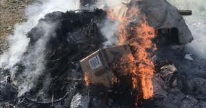 Κρήτη: Στην πυρά χιλιάδες δενδρύλλια κάνναβης, δεκάδες κιλά χασίς, κοκαΐνης, ηρωίνης(φωτο)