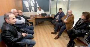 Συνάντηση Κουράκη με καταστηματάρχες της λεωφόρου Καλοκαιρινού