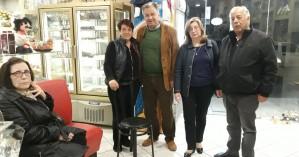 Περιοδεία στον Κρουσώνα έκανε ο Γιώργος Λογιάδης