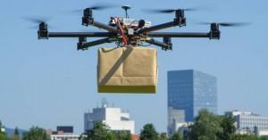 Τρόφιμα και φάρμακα στο σπίτι με drones