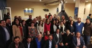 Πλήθος κόσμου στη συνάντηση του Παναγιώτη Σημανδηράκη με κατοίκους της Σούδας