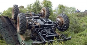 Νεκρός αγρότης σε δυστύχημα με το τρακτέρ του στο Ρέθυμνο