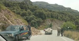 Ανετράπη αυτοκίνητο σε τροχαίο στην Παλαιόχωρα (βίντεο)