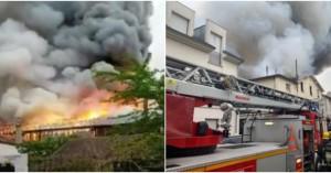 Συναγερμός στη Γαλλία: Πυρκαγιά στις Βερσαλλίες