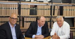 Συνάντηση Βάμβουκα με τον Σταθάκη με επίκεντρο αναπτυξιακά ζητήματα του δήμου Χανίων