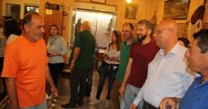 Περιοδεία στο Ακρωτήρι έκανε ο δήμαρχος Χανίων Τάσος Βάμβουκας (φωτο)