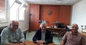 Συνάντηση Δημήτρη Ξενάκη με Νίκο Τζανάκη για την ενίσχυση των καταναλωτών