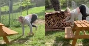 Η γυναίκα που ζει σαν... άλογο (βίντεο)