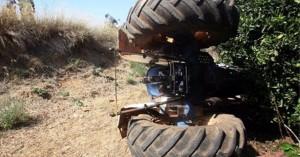 Πλακώθηκε άνδρας από τρακτέρ σε ατύχημα στο Ηράκλειο