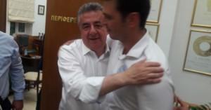 Συνεχάρη τον Σταύρο Αρναουτάκη ο Αλέξανδρος Μαρκογιαννάκης