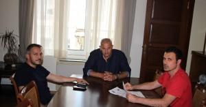 Συναντήθηκε ο αντιδήμαρχος αθλητισμού με εκπροσώπους του εργασιακού πρωταθλήματος μπάσκετ