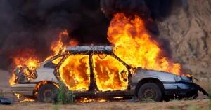Αμάξι στον Αποκόρωνα έγινε παρανάλωμα του πυρός