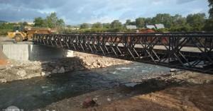 Μέχρι το πρωί του Σαββάτου η διακοπή κυκλοφορίας στην γέφυρα στον Αλικιανό