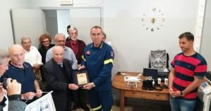 Δωρεά υπερσύγχρονου drone στην πυροσβεστική από τον Ροταριανό Όμιλο Χανίων