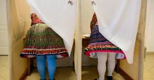 Ευρωεκλογές 2019: Κλικ και απίθανα στιγμιότυπα στις κάλπες