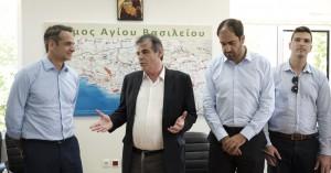 Κυρ. Μητσοτάκης από το Σπήλι: Αμέριστη στήριξη στην ορεινή Κρήτη