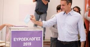 Ψήφισε ο Κ.Μητσοτάκης στην Κηφισιά:Αύριο θα ξημερώσει μια νέα φωτεινή μέρα για την πατρίδα
