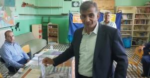 Ψήφισε ο Παντελής Μουρτζανός στον δήμο Αμαρίου