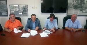 Υπεγράφη σύμβαση σχεδίου διαχείρισης υδραυλικών έργων στην Κρήτη