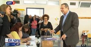 Ψήφισε ο Πάνος Καμμένος: «Να οδηγηθούμε πολύ γρήγορα σε εθνικές εκλογές»
