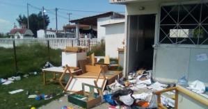 Θεσσαλονίκη: Τα έκαναν «γυαλιά-καρφιά» σε νηπιαγωγείο οικισμού Ρομά
