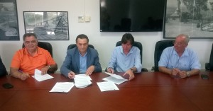 Υπογραφή σύμβασης Σχεδίου Διαχείρισης υδραυλικών έργων στην Κρήτη