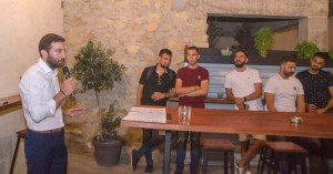 Μιχάλης Χαιρετάκης: Συνάντηση με τους νέους της Κισάμου