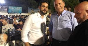 Σημανδηράκης και Σταθάκης συναντήθηκαν στο πανηγύρι του Κλήδονα (φωτο)