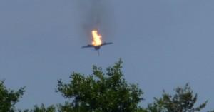 Συγκρούστηκαν δύο αεροσκάφη τύπου Eurofighter - Βίντεο-σοκ από τη στιγμή της πτώσης