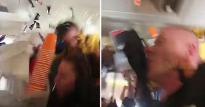 Τρόμος σε πτήση: Αεροσυνοδός «απογειώθηκε» απ' τις αναταράξεις - 10 τραυματίες (βίντεο)