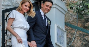 Γάμος Μπαλατσινού-Κικίλια: Οι ευχές της κόρης της και οι