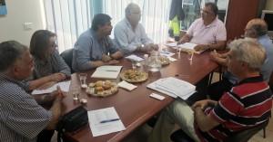 Επίσκεψη Υπουργού Υγείας Ανδρέα Ξανθού στην ΔΕΥΑ Ρεθύμνου και στον ΟΑΚ