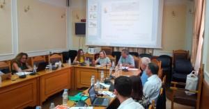 Συνάντηση της Θεανώς Βρέντζου – Σκορδαλάκη με στελέχη του προγράμματος Master food