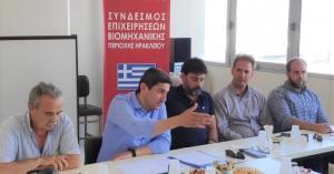 Ο Λευτέρης Αυγενάκης από τη ΒΙ.ΠΕ. Ηρακλείου: «Η ισχυρή ανάπτυξη είναι η μόνη λύση»