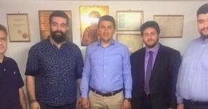 Συνάντηση του Λευτέρη Αυγενάκη με τους Ιεροψάλτες του νομού Ηρακλείου