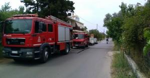 Δύο φωτιές σε σπίτια στο Ηράκλειο
