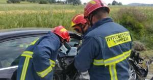 Τροχαίο ατύχημα με τραυματίες στον Κοξαρέ Ρεθύμνου