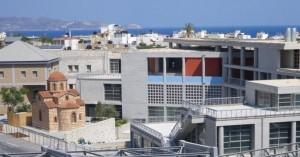 Aνοικτό το Πολιτιστικό & Συνεδριακό Κέντρο Ηρακλείου για την προστασία από τον καύσωνα