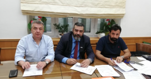 Υπογραφή σύμβασης για το Δικαστικό Μέγαρο Ρεθύμνου