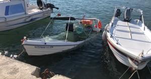 Βύθισαν βάρκα στο Καλαμάκι - Δεύτερο περιστατικό δολιοφθοράς μέσα σε 10 ημέρες (φωτο)