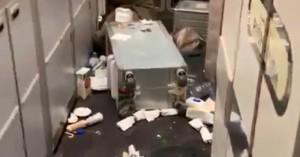 Πτήση τρόμου - Δεκάδες επιβάτες τραυματίστηκαν από ισχυρές αναταράξεις