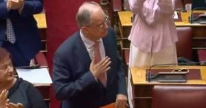 Ο Κώστας Τασούλας είναι ο νέος πρόεδρος της Βουλής με ρεκόρ ψήφων