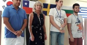 Τελετή λήξης και βραβεύσεις των νικητών του 12ου Διεθνούς Σκακιστικού Τουρνουά Παλαιόχωρας